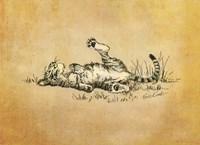Bliss In The Grass Fine Art Print
