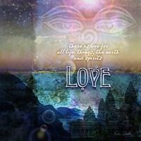 Spiritual Love Fine Art Print