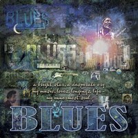 The Blues Fine Art Print