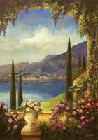 Villa Rosa Fine Art Print