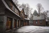 Snow Mill Fine Art Print