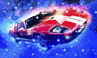 Classic Car Ford GT VI Fine Art Print