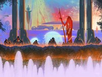 Megafuture World XXXI Fine Art Print