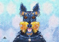 Scottie Dog LI Fine Art Print