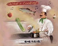 Look What's Cooking Fine Art Print