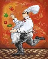 Juggler Bookends II Fine Art Print