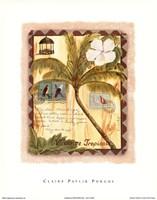 Vacance Tropicale Fine Art Print