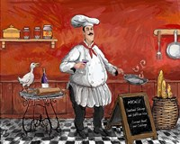 Shrimp Chef Fine Art Print