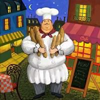Bread Chef Master Fine Art Print