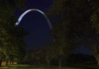 Arch In The Park Fine Art Print