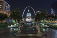 St. Louis At Night Fine Art Print