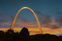 The Arch At Sunset Fine Art Print