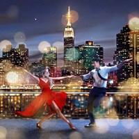 Dancin' in the Moonlight (detail) Fine Art Print