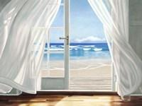 Window by the Sea Fine Art Print