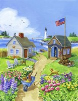 Boathouse Cove Fine Art Print
