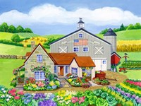 Oakley Farm Fine Art Print