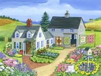 Quilt Barn Fine Art Print