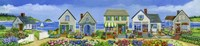 Surfside Village Fine Art Print