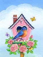 Bluebird Valentine Fine Art Print