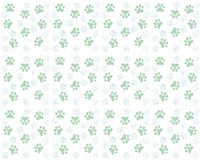 Fun Kitties Pawprints Pattern Fine Art Print