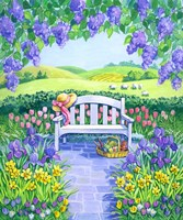Garden Seat Fine Art Print