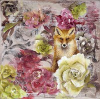 Hiding Fox Fine Art Print