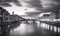 Arno in Florence Framed Print