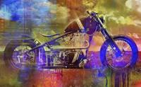 Bobber Moto Fine Art Print