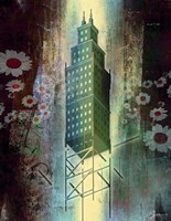 Spring Time In The City Fine Art Print