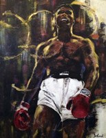 Muhammad Ali Fine Art Print