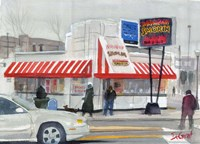 Smokin Bar-B-Que Fine Art Print