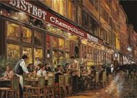 Bistrot Champollion Fine Art Print