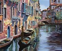 Venezia in Rosa Fine Art Print