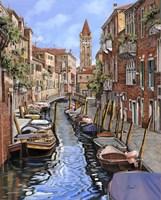 Il Gatto Nero a Venezia Fine Art Print
