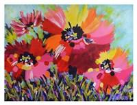 Big Red Poppies Fine Art Print