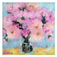 Bright Pink Peony Fine Art Print