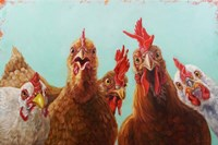 Chicken for Dinner Fine Art Print