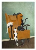 Catlife Fine Art Print