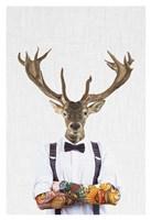 Deer Man Fine Art Print
