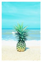 Pineapple on the Sand Fine Art Print