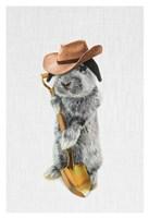 Rabbit Farmer Fine Art Print