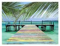 Rainbow Dock Fine Art Print