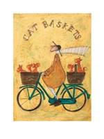 Cat Baskets Fine Art Print