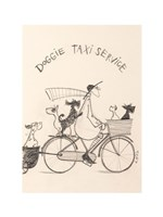 Doggie Taxi Fine Art Print