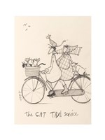 The Cat Taxi Fine Art Print