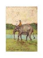 Two Riders Fine Art Print