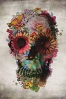 Flower Skull Fine Art Print