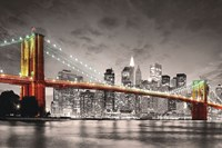 New York Brooklyn Bridge Fine Art Print