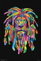 Lion Rasta Fine Art Print