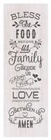 Food, Family, Love Fine Art Print